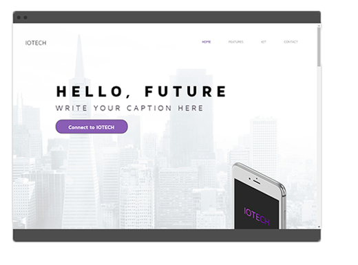 Responsive Desktop Website Display